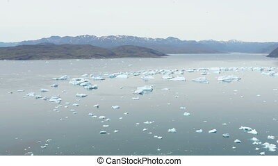 groenland, qooroq, icefjord