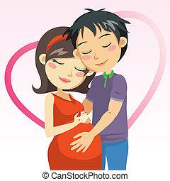 grossesse, amour