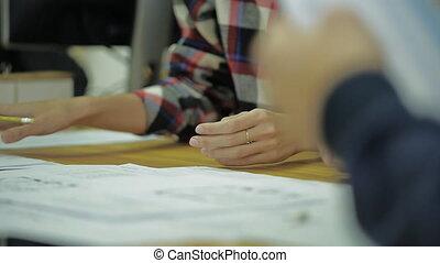groupe, expert, gens, discussion, papiers, projet, autre, vif, passe, chaque, blueprint.
