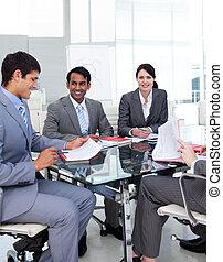 groupe, présentation, business