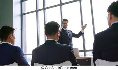 groupe, séminaire, conférence, réunion affaires, gens