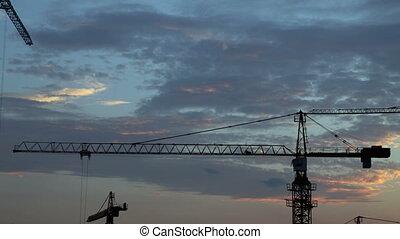 grues, construction