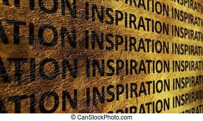 grunge, fond, inspiration, texte