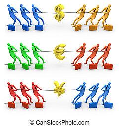 guerre, économie
