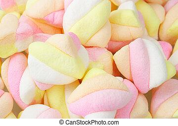 guimauve, bonbons