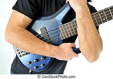guitare, basse, électrique