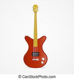 guitare, basse, illustration