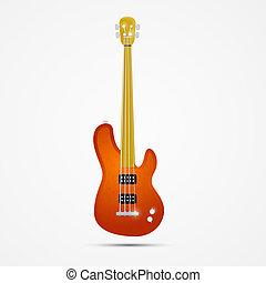 guitare, résumé, basse
