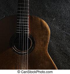 guitare, vie, encore