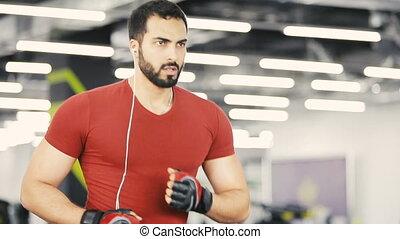 gymnase, cardio, exercice