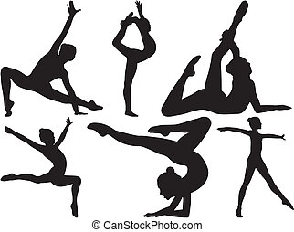 gymnastique, fitness