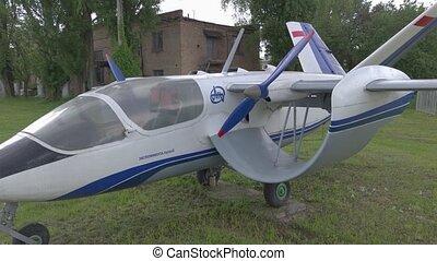 hélice, soviétique, avion