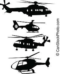 hélicoptères, collection