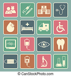 hôpital, icône