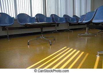 hôpital, waitingroom