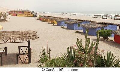 hôtel, plage