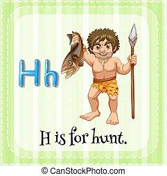 h, lettre