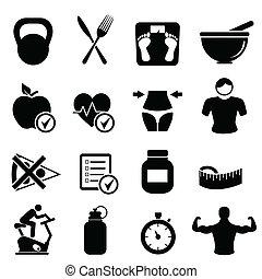 habiter sain, régime, fitness