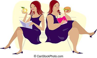 habitudes, manger