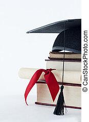 haine, tas livre, rouleau, remise de diplomes