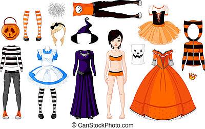 halloween, girl, costumes
