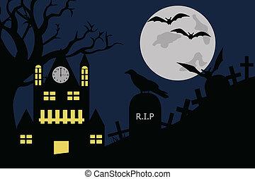 halloween, illustration