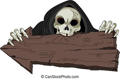 halloween, reaper, sinistre