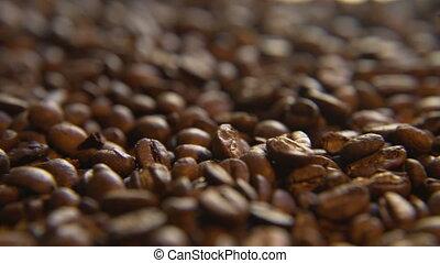 haricots, café, rôti, gauche