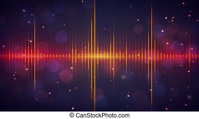 harmonic, technologie numérique, vagues
