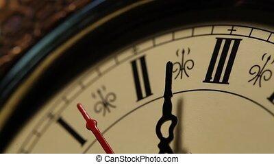 haut fin, horloge, métrage