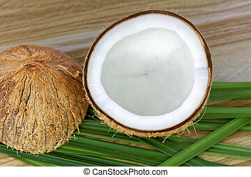 haut fin, noix coco