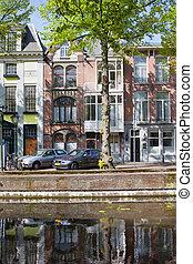 haye, bâtiments, appartement, terrasse