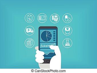 healthcare, électronique, (e-health)