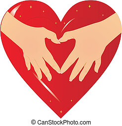 heart..., mains