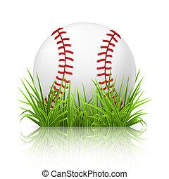 herbe, 10eps, base-ball