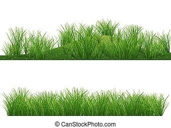 herbe, fond