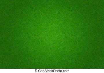 herbe, golf, champ, arrière-plan vert, football, ou