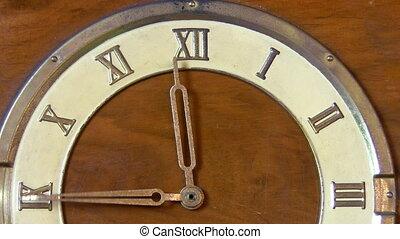heures, vendange, 12, horloge