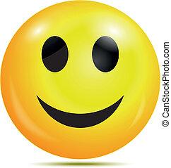heureux, smiley