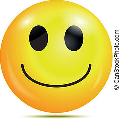 heureux, smiley, emoticon