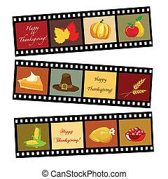 heureux, thanksgiving, bande film