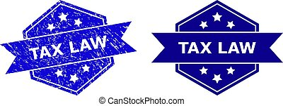 hexagonal, droit & loi, version, impôt, malpropre, cachet, surface, propre