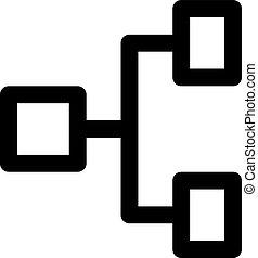 hiérarchie, horizontal