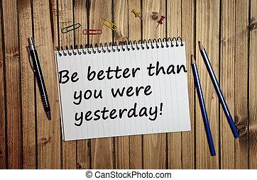 hier, être, que, mieux, vous