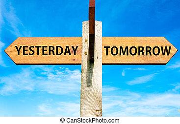 hier, contre, demain