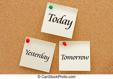 hier, demain, aujourd'hui