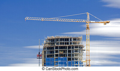 highrise, construction