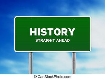 histoire, signe rue