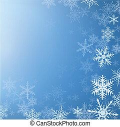 hiver, fond