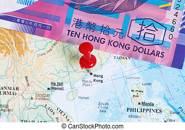 hk, dollars, 10